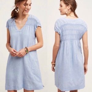 Anthropologie Maeve Paz Tunic Dress Size Small